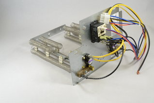 Circuits heat strip turns