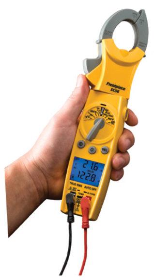 The Best Hvac Clamp Meter : Contractors hvac supply fp sc d swv head clamp meter